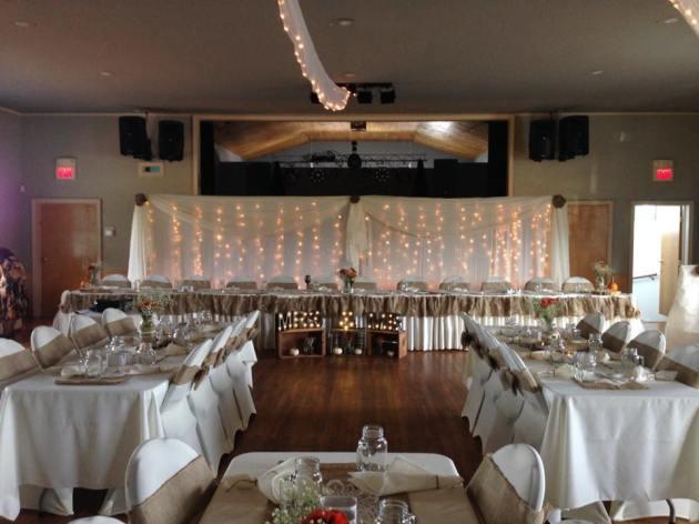 October 2017 Wedding Reception